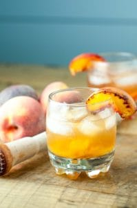 Roasted Peach Old Fashioned