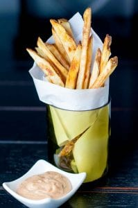 Best Crispy Oven Baked Fries with Fry Sauce