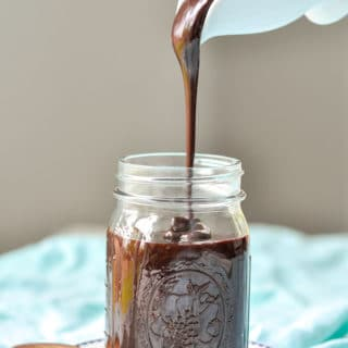 I've been making this legendary homemade hot fudge sauce for years. I've tried others, but this simple, chewy, gooey hot fudge recipe can't be beat! http://www.mamagourmand.com