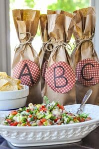 How to Throw an Easy Brown Bag Wine Party