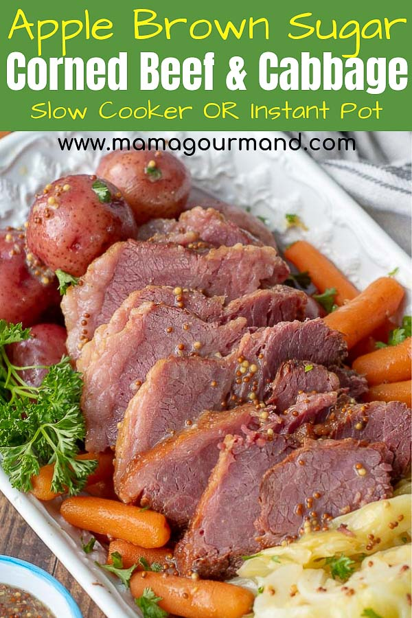 slow cooker corned beef and cabbage pinterest