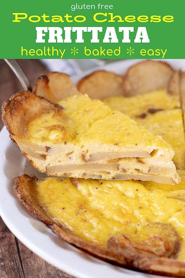potato frittata pinterest pin