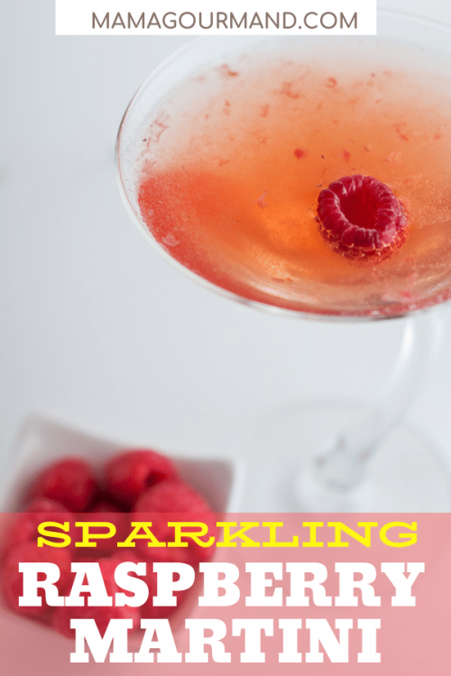 RASPBERRY MARTINI PIN
