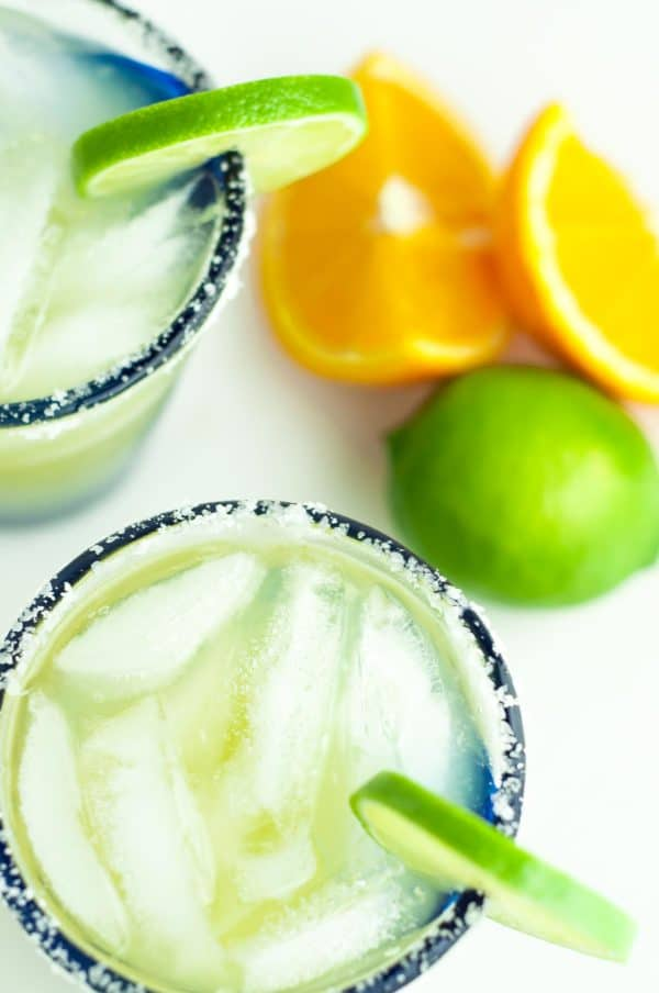 This Light and Fresh Margarita recipe is the absolutely perfect version of a fantastic drink. It's lighter in calories, uses fresh ingredients, and will be your new go to margarita recipe. https://www.mamagourmand.com