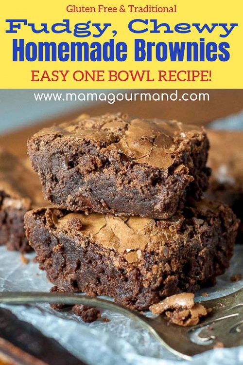 homemade brownies recipe