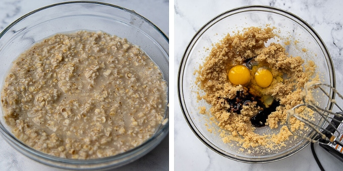 images showing how to make oatmeal creme pies