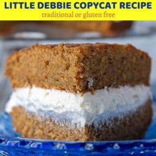 Oatmeal Creme Pie pin