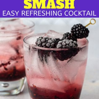 blackberry cocktail pin