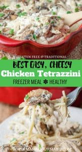 chicken tetrazzini pinterest pin
