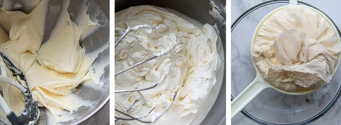 images showing how to make coeur a la creme