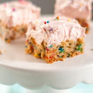 Soft Sugar Cookie Bars