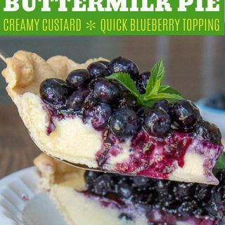 fresh blueberry pie pinterest pin