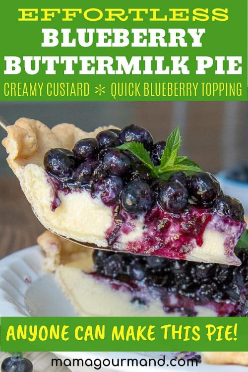 fresh blueberry pie pinterest pin