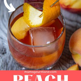 peach old fashioned pinterest pin