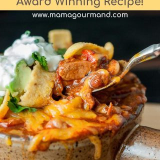 chorizo chicken chili Pinterest