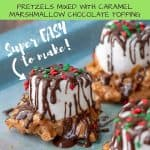 caramel marshmallow treats pinterest pin