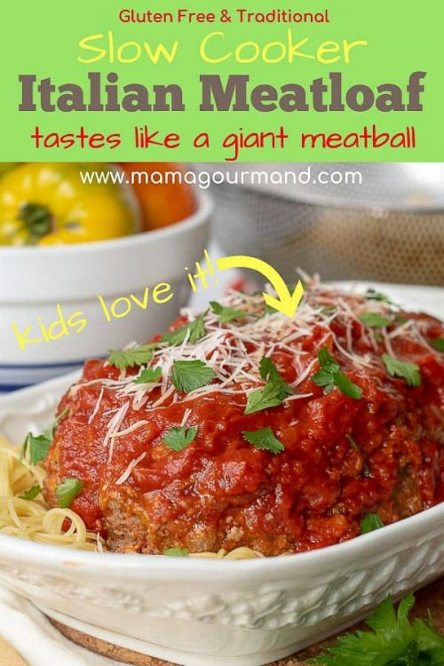 Italian meatloaf Pinterest