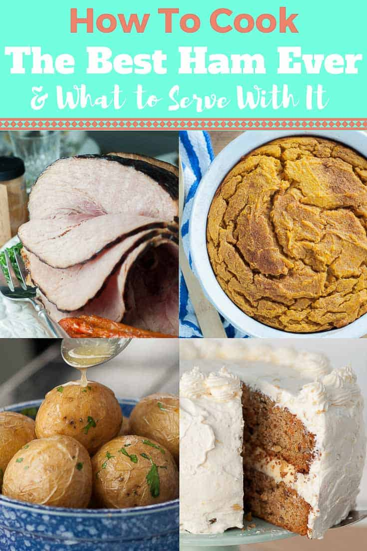 Deciding what to serve with the best ham ever? Or perhaps you are looking for an unique way to prepare your holiday ham? Read on to discover all the ways to cook the perfect ham and the best side dishes to go along with it. #holidayham #besthamrecipe #hamsidedishes #eastersidedishes #easterham #whattoservewithham https://www.mamagourmand.com