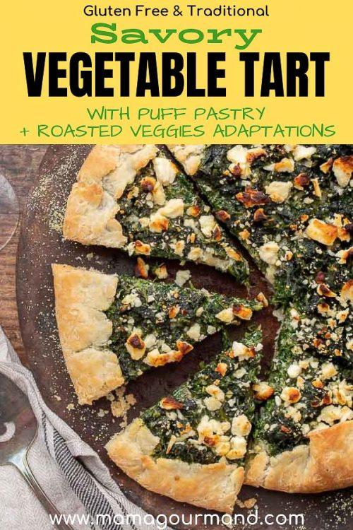 vegetable tart pinterest