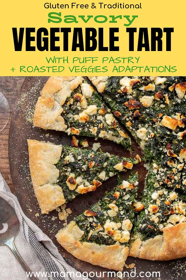 vegetable tart pinterest