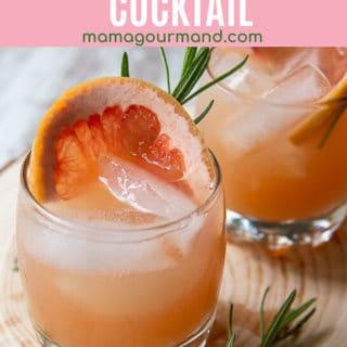 grapefruit vodka cocktail pin