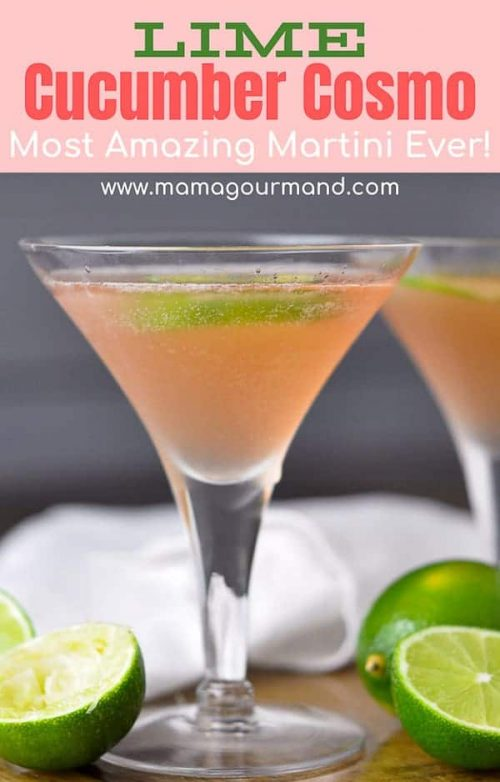 lime cucumber cosmo pinterest