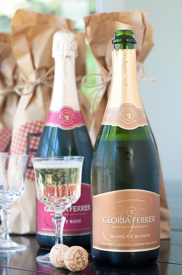 Host a party yet still actually enjoy yourself by following my simple steps on how to throw an easy blind tasting Brown Bag Wine Party. https://www.mamagourmand.com