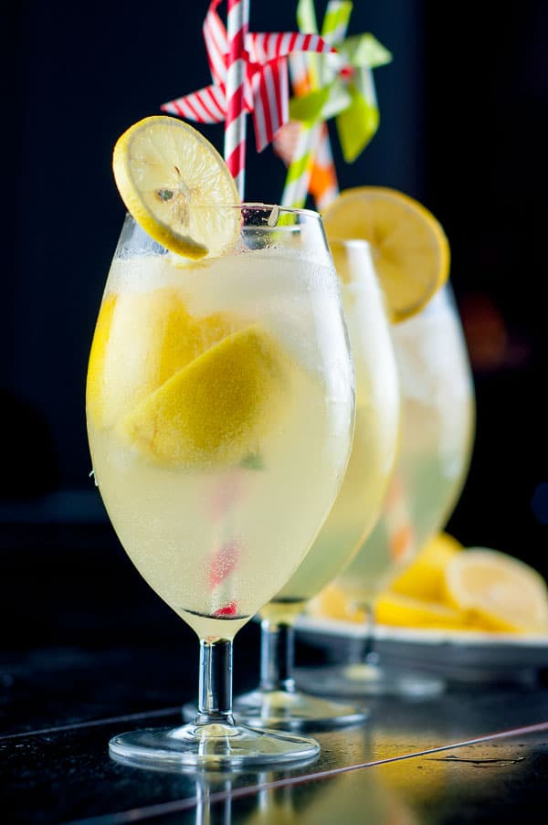 Spiked Lemon Shake-Up Cocktail is your classic vodka lemonade drink brought to the next level. It's quick, easy, and has that fresh lemon shake-up taste. https://www.mamagourmand.com