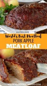 pork meatloaf pinterest pin