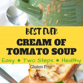 cream of tomato soup recipe pinterest pin