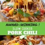 pork chili pinterest