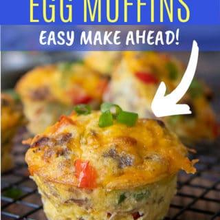 egg muffin pinterest pin