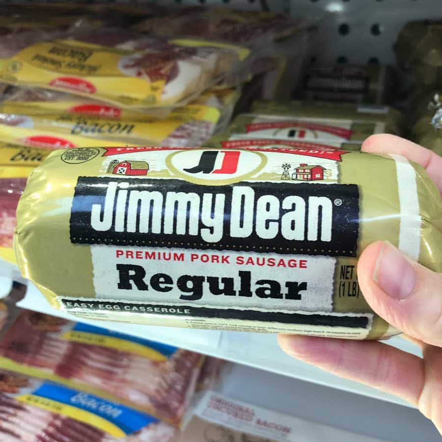 Jimmy Dean Sausage used to make Make Ahead Sausage, Sweet Potato, Egg Muffins