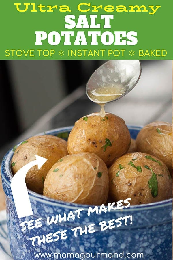 salt potatoes pinterest