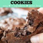 flourless cookies pinterest