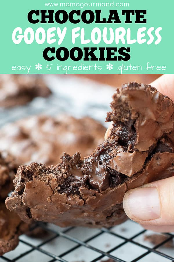 flourless cookies pinterest