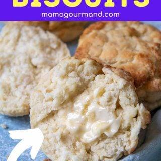 gluten-free biscuit pin