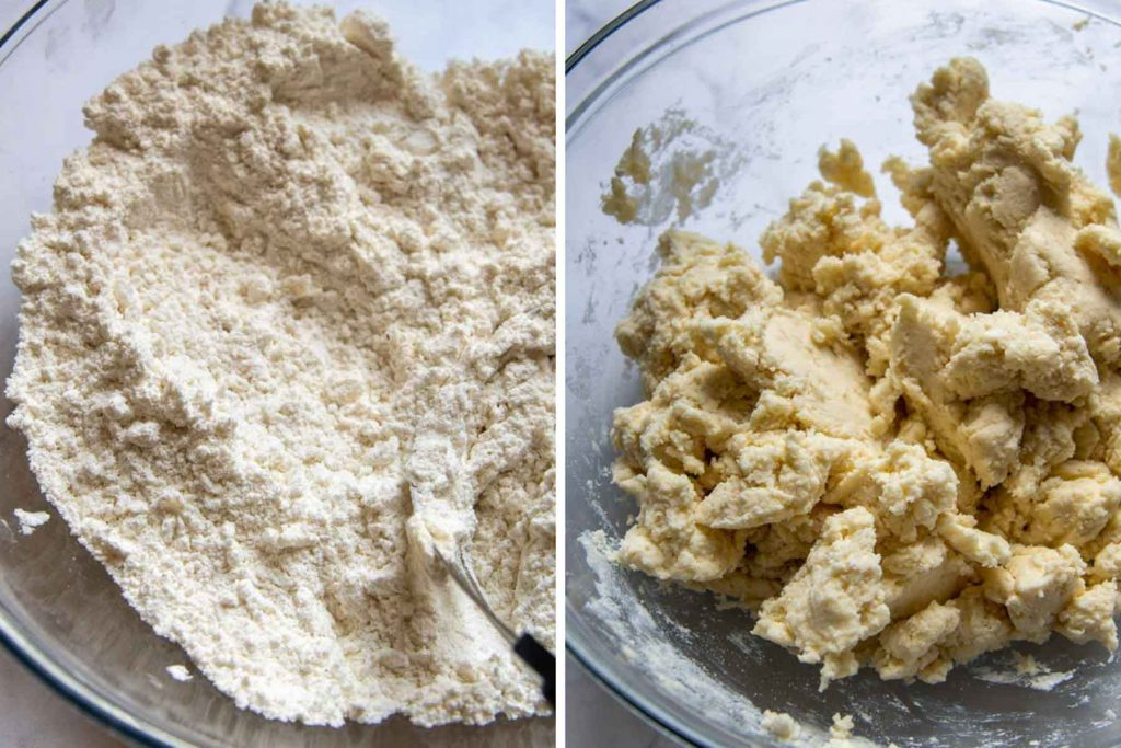 images of gluten-free biscuit dough