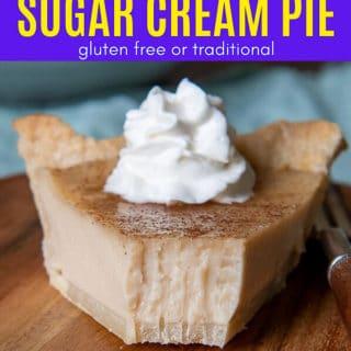 sugar cream pie pinterest pin