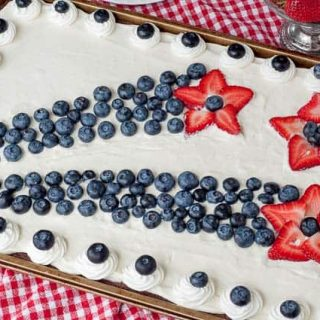 Easy 4th of July Brownies