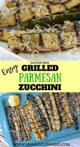 Best Grilled Zucchini Pinterest pin