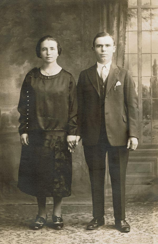 My grandparents shortly after arriving to America