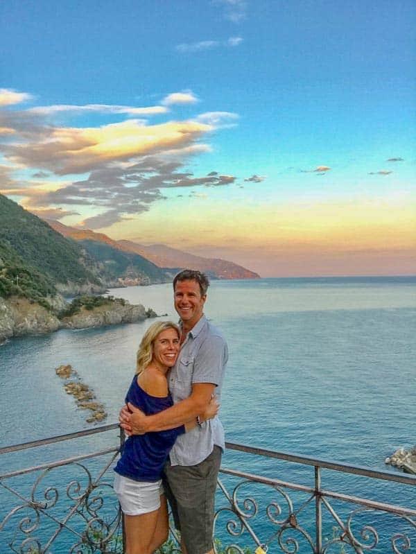 Ryan and I in Cinque Terre