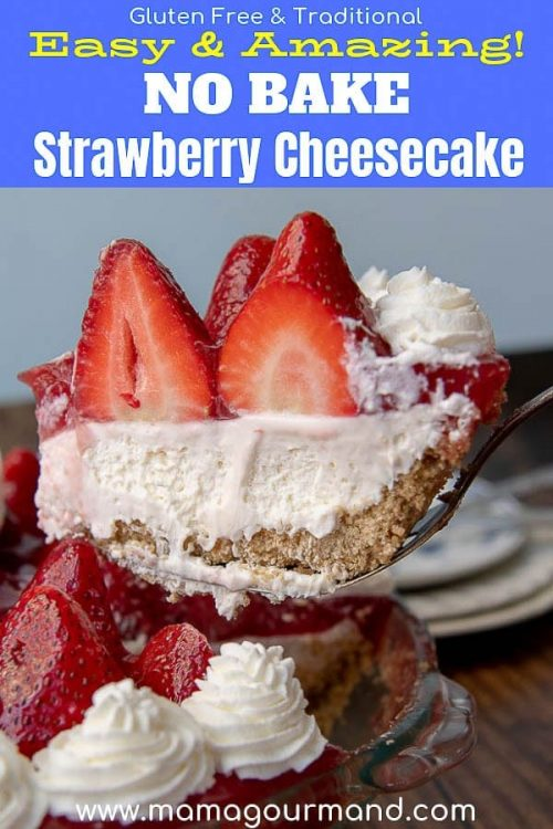 no bake strawberry cheesecake pinterest