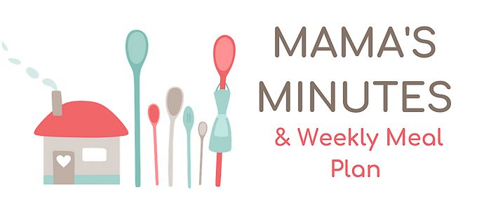 Mama's Minutes & Weekly Meal Plan Logo