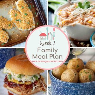 Mama's Minutes and Meal Plan: 8/17/18