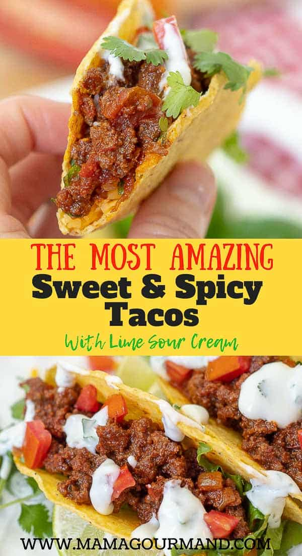 sweet and spicy tacos pinterest