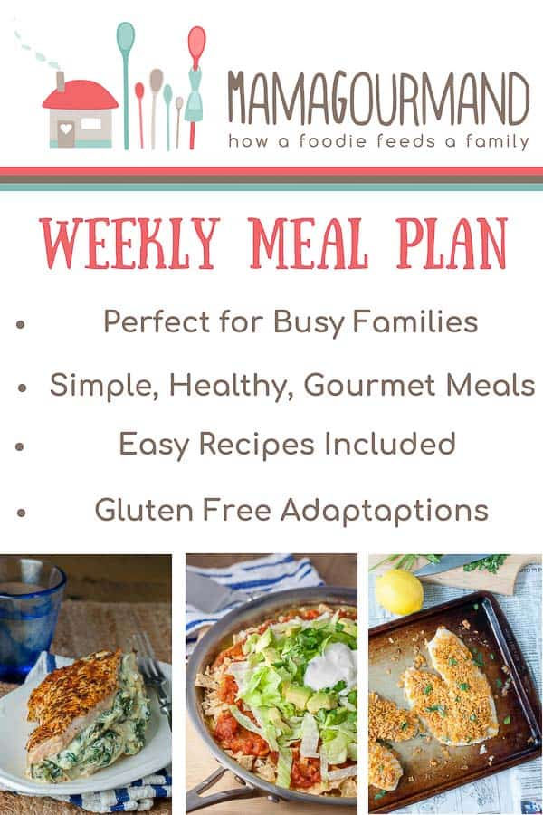 weekly mean plan pinterest