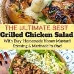 grilled chicken salad pinterest
