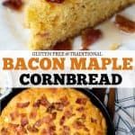 bacon cornbread pinterest pin